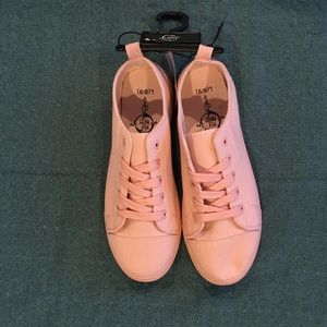 Shoes - Brand New Pastel Pink Sneakers Size 8/9